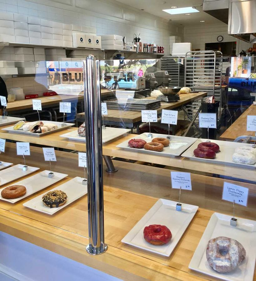 Blue Star donuts was founded in 2012 in Portland, OR. The delicious donut store offers flavors from Raspberry Rosemary to Mexican Hot Chocolate