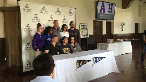 Rachel Pike signs letter of intent to play soccer at Hamilton College