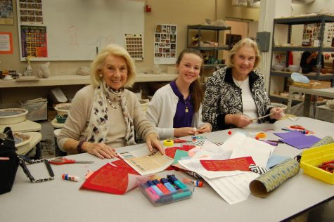 Archer students give grandparents 'hope for the future' in campus tradition