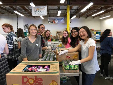 Photo gallery: Senior service day at Los Angeles Food Bank