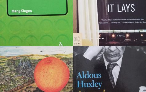 Four of the texts I've studied this year in Pomo. Out of these, my favorite is definitely Tropic of Orange, since its discussion of Koreatown and Los Angeles as a whole really hits home.