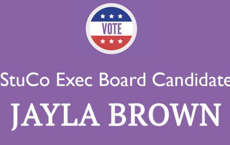 Meet the Candidate: Jayla Brown '18