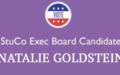 Meet the Candidate: Natalie Goldstein '18