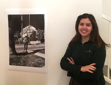 Senior Jacqui Ambriz exhibits her photography in the Eastern Star Gallery
