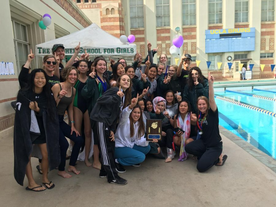 The+varsity+swim+team+made+Archer+history+when+they+won+the+Liberty++League+Championship+for+the+third+consecutive+year.+The+team+is+led+by+two+senior+captains.+