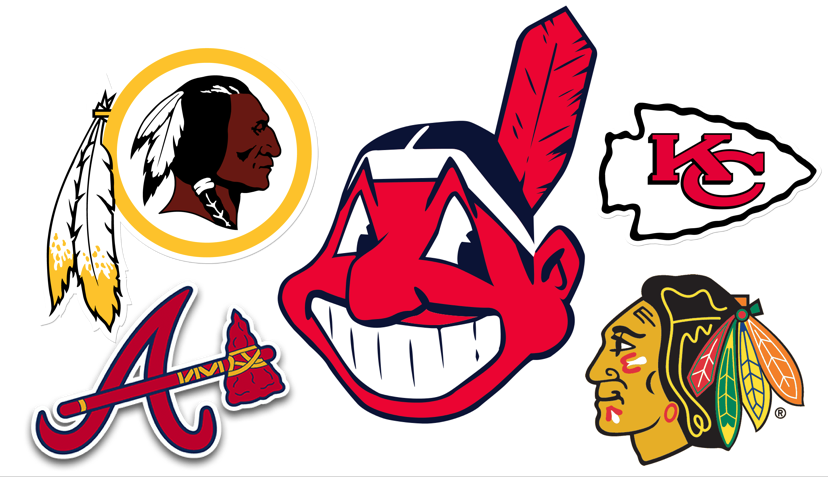 the negative usages of native american mascots and names in athletic teams