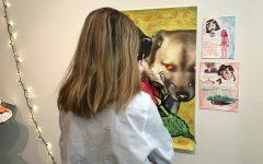 Kristen Mundy, Elizabeth Zinman display senior art showcases