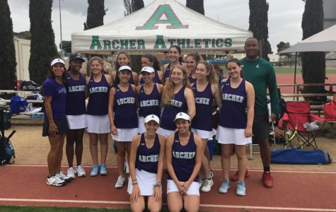 Varsity tennis 'takes risks' to defeat Buckley, remain undefeated in league