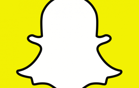 Snapchat's ghost logo. The app's streak feature fuels constant phone checking. Image source:  <a href=