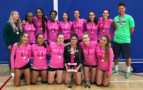 Varsity volleyball places in Brentwood, Milken Tournaments