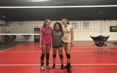 Q&A with 2017-2018 varsity volleyball captains: Rachael Boehm, Macoy Ohlbaum and Amelia Nathanson