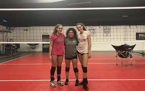 Nathanson, Ohlbaum and Boehm after practice at Vertical Sports Performance, where the team trains. The captains chose
