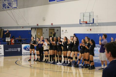 Varsity volleyball concludes record breaking season