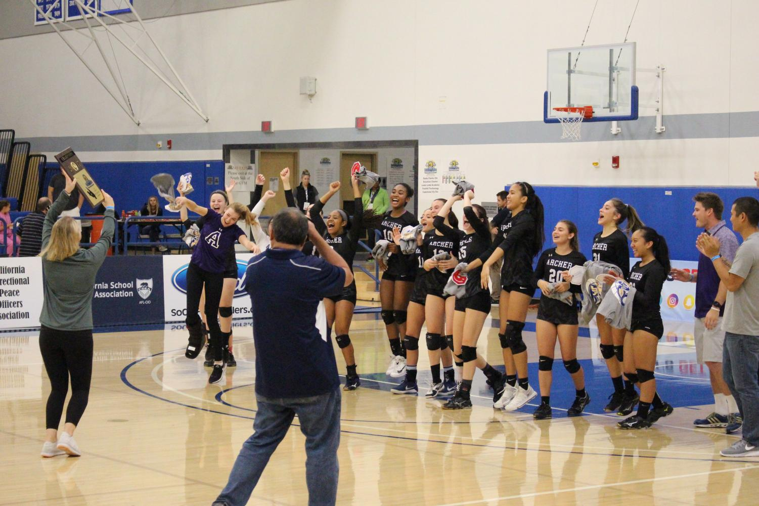 Record+Setting+Weekend%3A+Varsity+volleyball+wins+first+CIF-SS+title+in+school+history