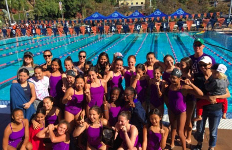 Middle school swim wins league championship, ends drought