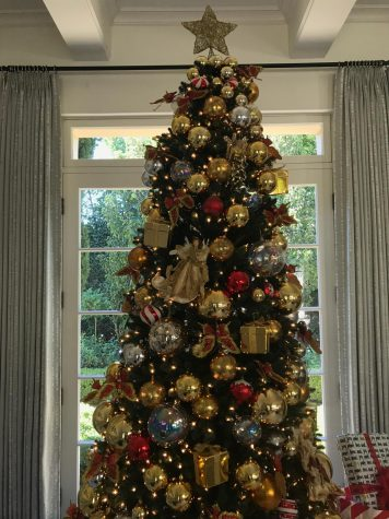 A Christmas tree stands in a living room. This holiday season, Chang recommends nine of her favorite holiday movies.
