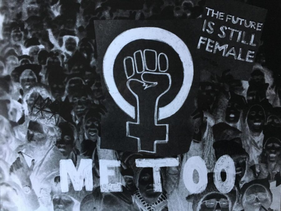 Artwork+emphasizing+the+%23MeToo+movement.+The+%23MeToo+movement+was+created+to+support+survivors+of+sexual+violence.+Illustration+by+Arianna+Miller+%2720.+