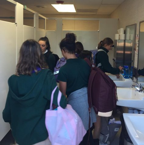 Administration works to improve Classroom Village bathrooms