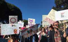 600,000 Angelenos March in Downtown's Women's March