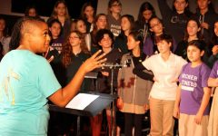 Music students 'put a spin' on annual Winter Concert