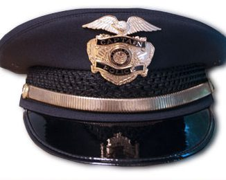 Image of police hat. Recent sexual assault cases in New York have shed light on a dangerous legal loophole.  Image source:  <a href=