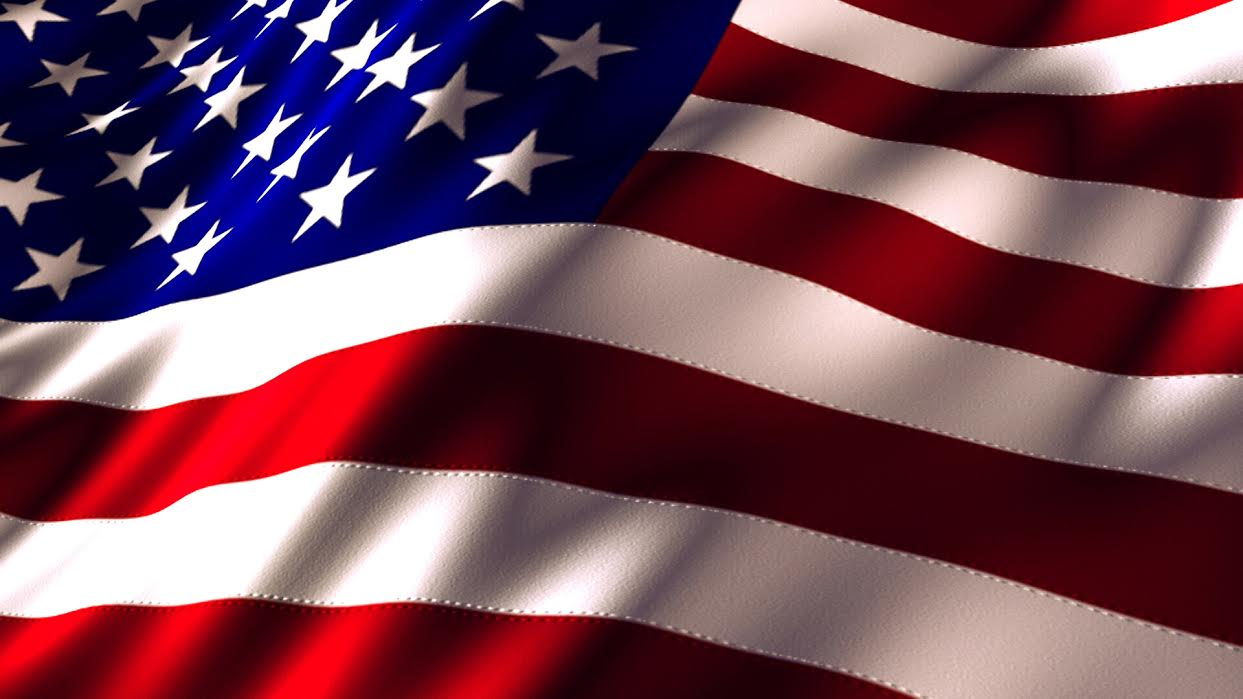 Image of the American flag. American youth now more then ever are using their voices for change and justice. Image source: NASA.