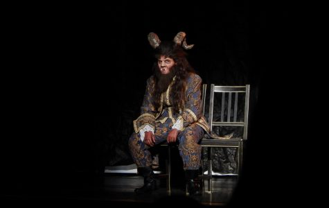 Middle school actresses perform 'Beauty and the Beast' in new venue