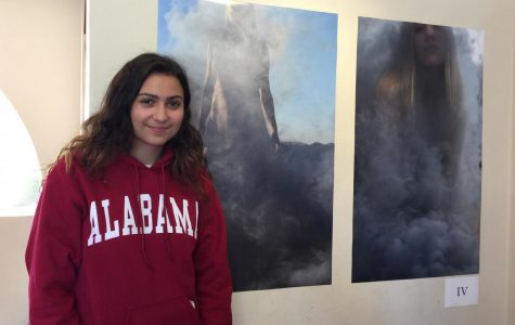Caitlin Mosch displays photography inspired by natural elements in senior show