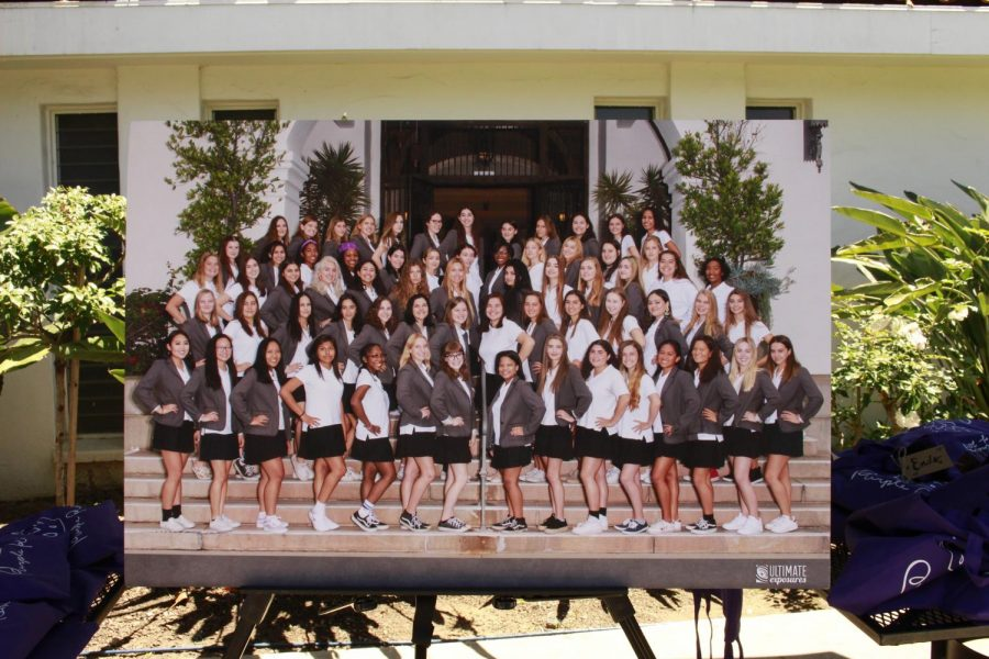 Alongside their sixth grade class photo, this canvas displayed the Class of 2018 at the beginning of the 2017-2018 school year.