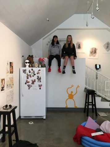 Artists Kisa Rozenbaoum, Elizabeth Endo showcase 'sick' art in senior show