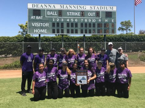 Softball continues 'fun and intense' season as they head to CIF-SS championships