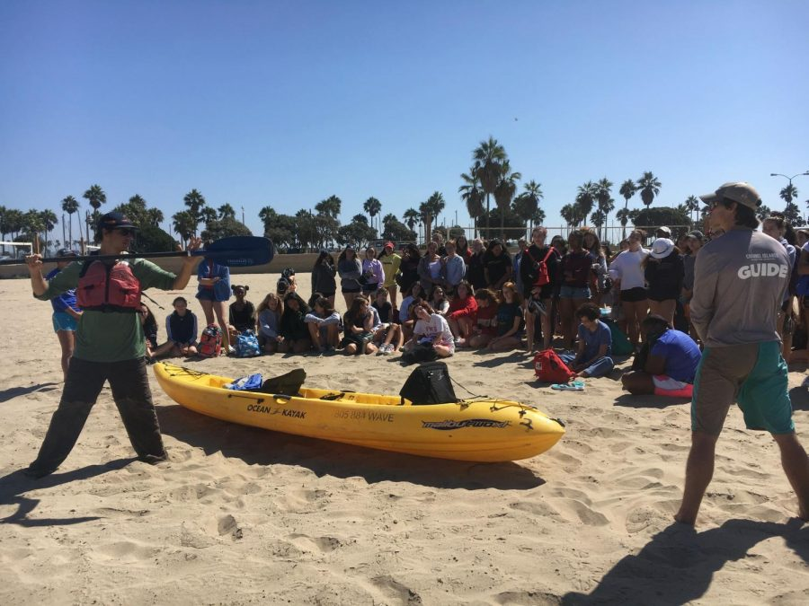 Instead of traveling to the Pacific Northwest for Arrow Week, the 11th grade spent Fall Outing in Ventura. They swam and kayaked before heading back to Archer and spending the night there.