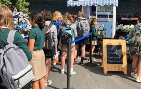 Student Store Board puts 'hard work on display' at Snack Shack opening