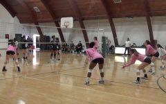 Varsity volleyball team defeats Glendale Adventist Academy 3-0
