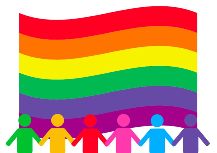 A+graphic+depicts+the+LGBTQ%2B+pride+flag.+Two+seniors+are+leading+GSA%2C+an+affinity+and+alliance+club+that+aims+to+provide+a+safe+space+for+LGBTQ%2B+community+members+and+allies.++%0APhoto+illustration+by+Anna+Brodsky