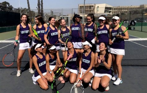 Varsity tennis defeats Milken High School 18-0, remains undefeated in league
