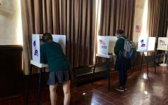 Voting 101: Human Rights Watch Student Task Force holds mock election, teaches students how to vote