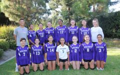 Middle school volleyball finishes season with 16-7 overall record