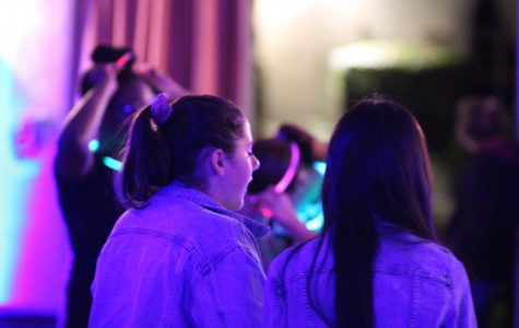 Dancing the night away: Eighth graders 'enjoy' annual social