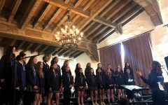 Upper school orchestra, choir, a capella give preview of Winter Concert