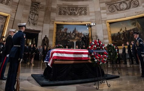 Bush's coffin lies in the Capitol rotunda. During his life, he exemplified a bipartisan spirit that we can learn from at Archer.