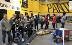Success & 'Ruckus': Robotics team places third in competition
