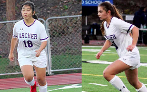 Q&A with senior soccer captains: Jenna Marks, Ruby Colby