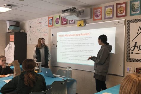 Ninth grade hears from religion panel during unit on religion, culture