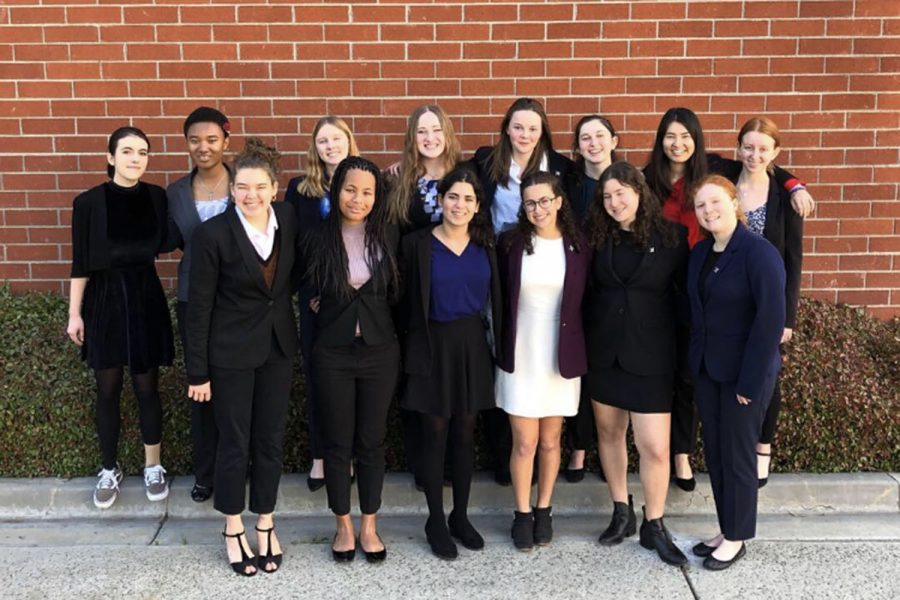 The+Speech+and+Debate+team+competed+in+the+California+Lutheran+University+invitational+on+Saturday%2C+Feb.+17%2C+2019.+The+team+made+history%2C+with+many+students+making+it+to+the+final+rounds+of+the+competition.+SPEECH+AND+DEBATE+TEAM.+Natalie+Grant+%28%2719%29%2C+Evan+Bowman+%28%2722%29%2C+Isabella+Silvers+%28%2720%29%2C+Jessica+Tuchin+%28%2721%29%2C+Eva+Dembo+%28%2721%29+and+Noa+Wallock+%28%2722%29.+ROW+2%3A+Lola+Wolf+%28%2719%29%2C+Lena+Jones+%28%2720%29%2C+Grace+Carter+%28%2720%29%2C+Kylie+Chryss-Connell+%28%2721%29%2C+Lily+Kerner+%28%2722%29%2C+Rachael+Azrialy+%28%2721%29%2C+Maddie+Fenster+%28%2720%29%2C+Anna+Brodsky+%28%2720%29.