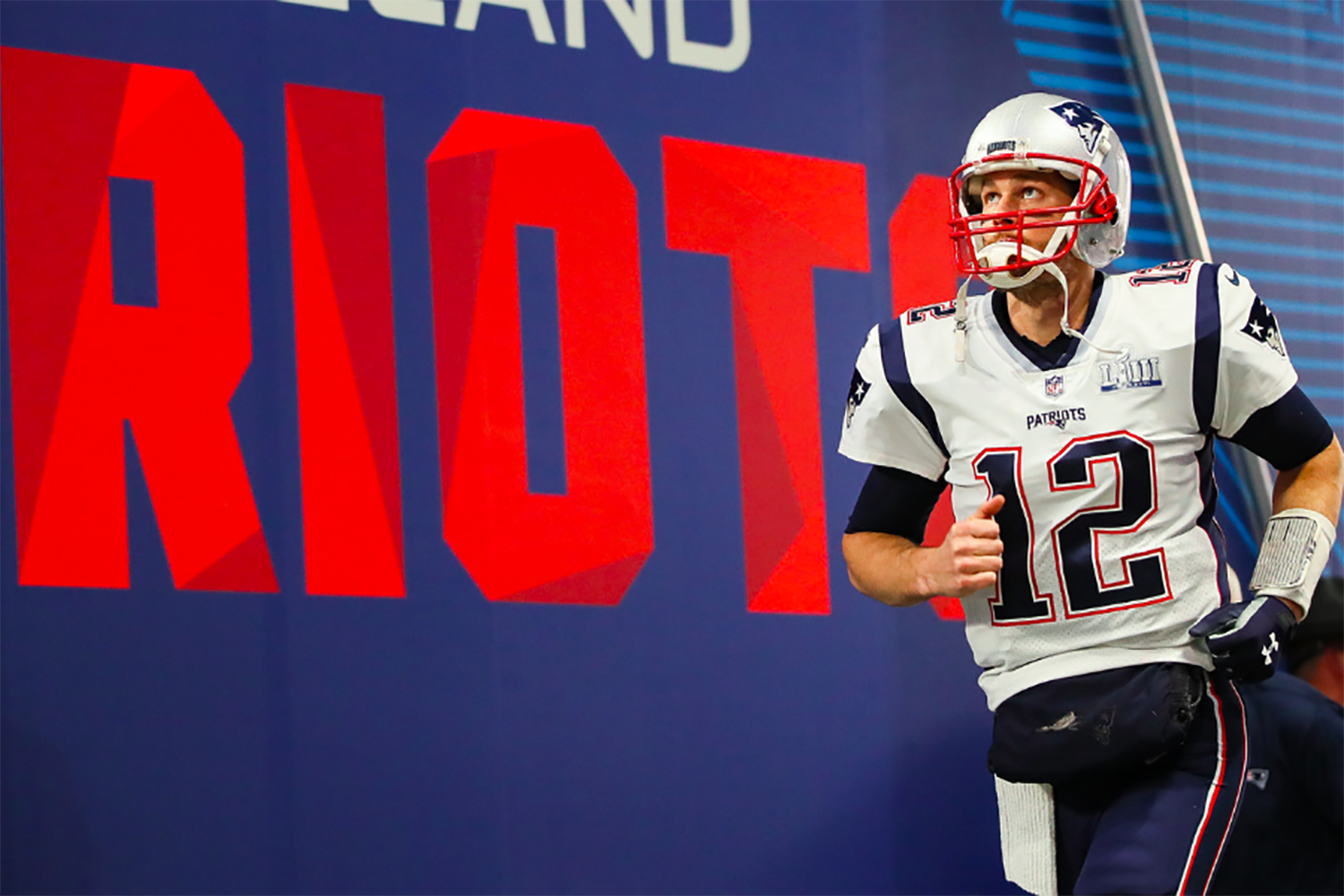 The New England Patriots Quarterback Tom Brady played in Super Bowl LIII on Feb. 3, 2019. This was Brady's sixth Super Bowl win.