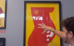 Soviet Union exhibit hits its 'Marx' with sophomore history class
