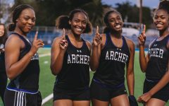 Track and field sprints to first-place finish in league championship