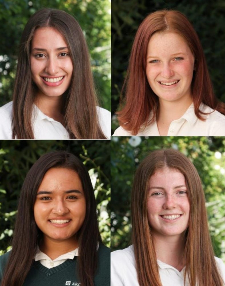 Grace Wilson '20, Angelica Gonzalez '20, Sophie Larbalestier '20 and Madis Kennedy '21 will serve as the executive board for the 2019-2020 school year.
