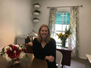 "After hearing that Upper School Director Gretchen Warner had received the headship at The Madeira School, Head of School Elizabeth English and Warner's mother sent her flowers, which currently decorate Warner's office. ""It's been a lot of 'sorry to see you go, but we're so excited for you' [from the Archer community],"" Warner said."